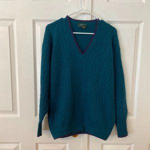 Lauren Ralph Lauren Cashmere Pull-over Sweater S